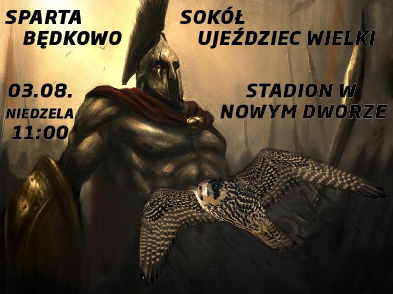 SPARING SPARTA Będkowo - SOKÓŁ Ujeździec Wielki